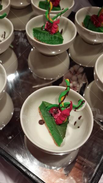 圣诞色彩蛋糕