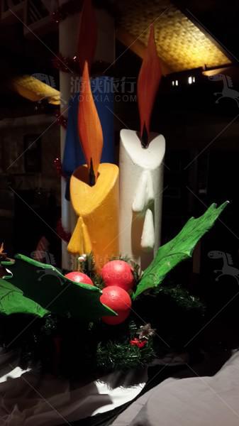 马代酒店的圣诞节