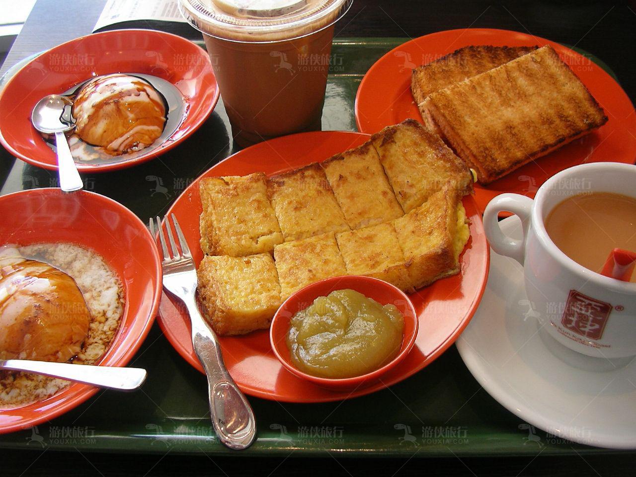亚坤咖椰吐司店