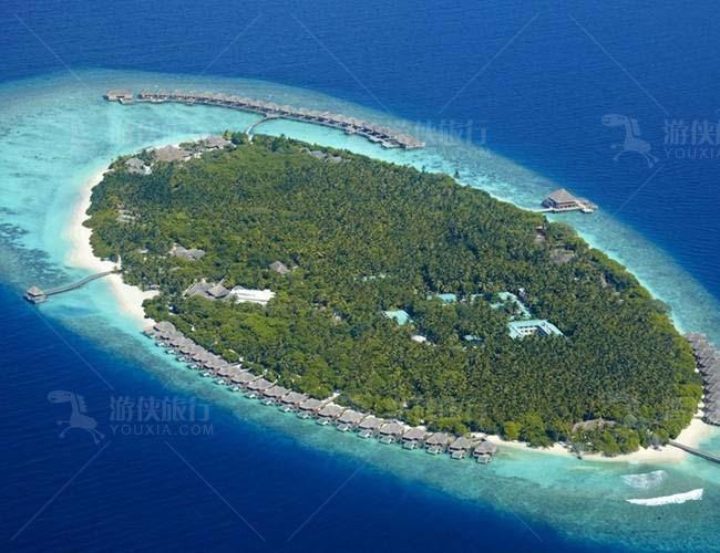 位于Mudhdhoo Island的Dusit Thani 都喜天阙度假酒店