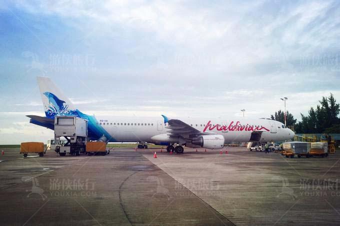 武汉直飞马累的Q2365次航班