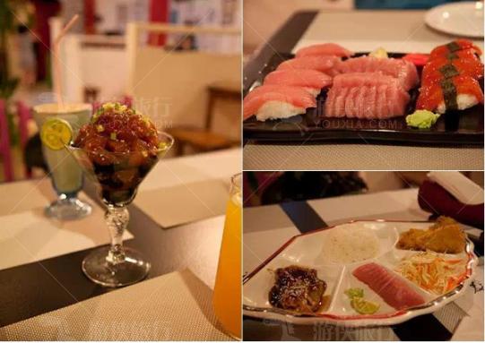 最受游客欢迎的日式餐厅