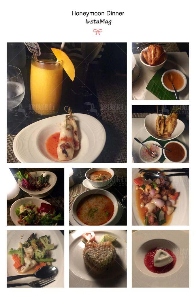 泰餐厅Benjarong享用蜜月晚餐