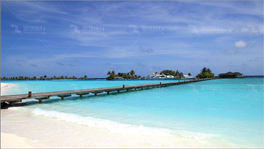 马尔代夫水上项目