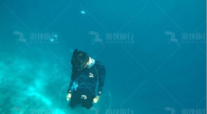 马尔代夫可以尽情下海游玩