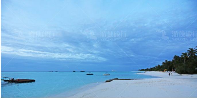 .享受马尔代夫的沙滩和阳光是大家不会错过的