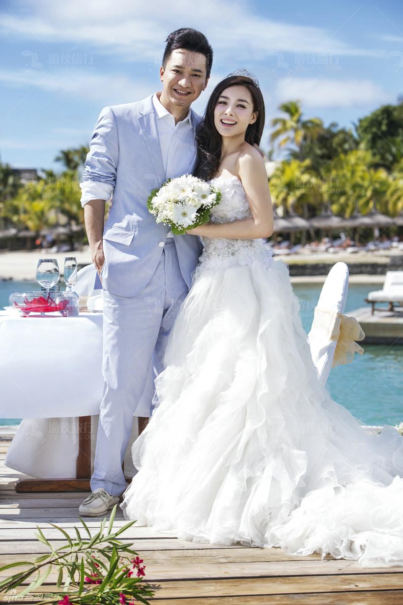 令人惊艳的婚纱照