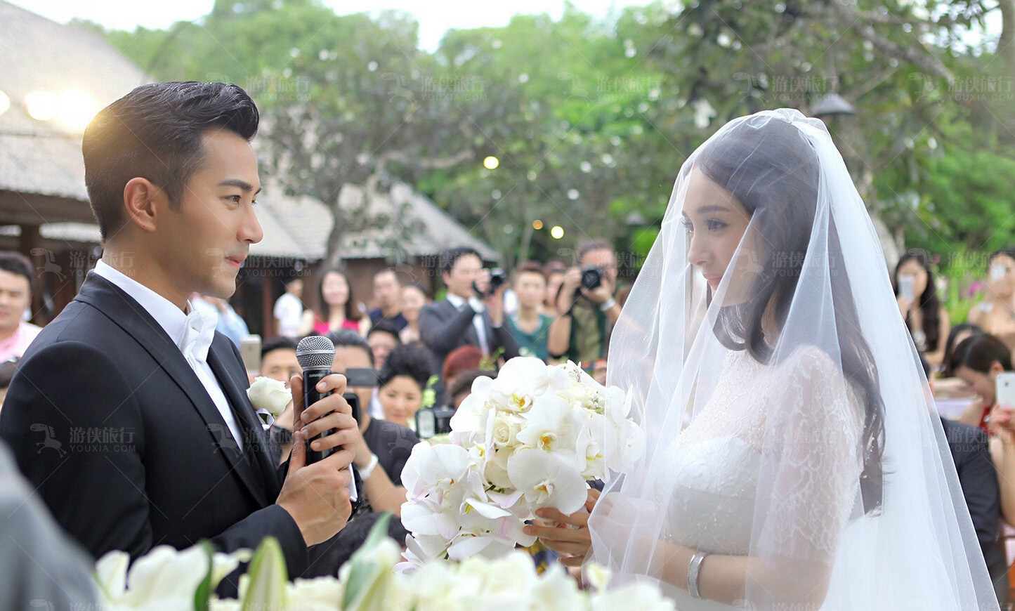 杨幂刘恺威巴厘岛大婚