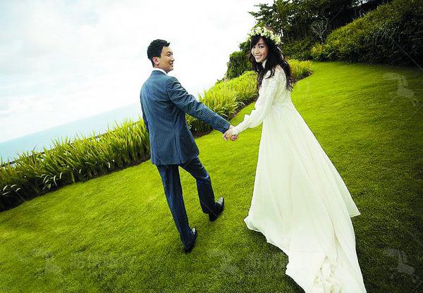 侯佩岑巴厘岛婚礼