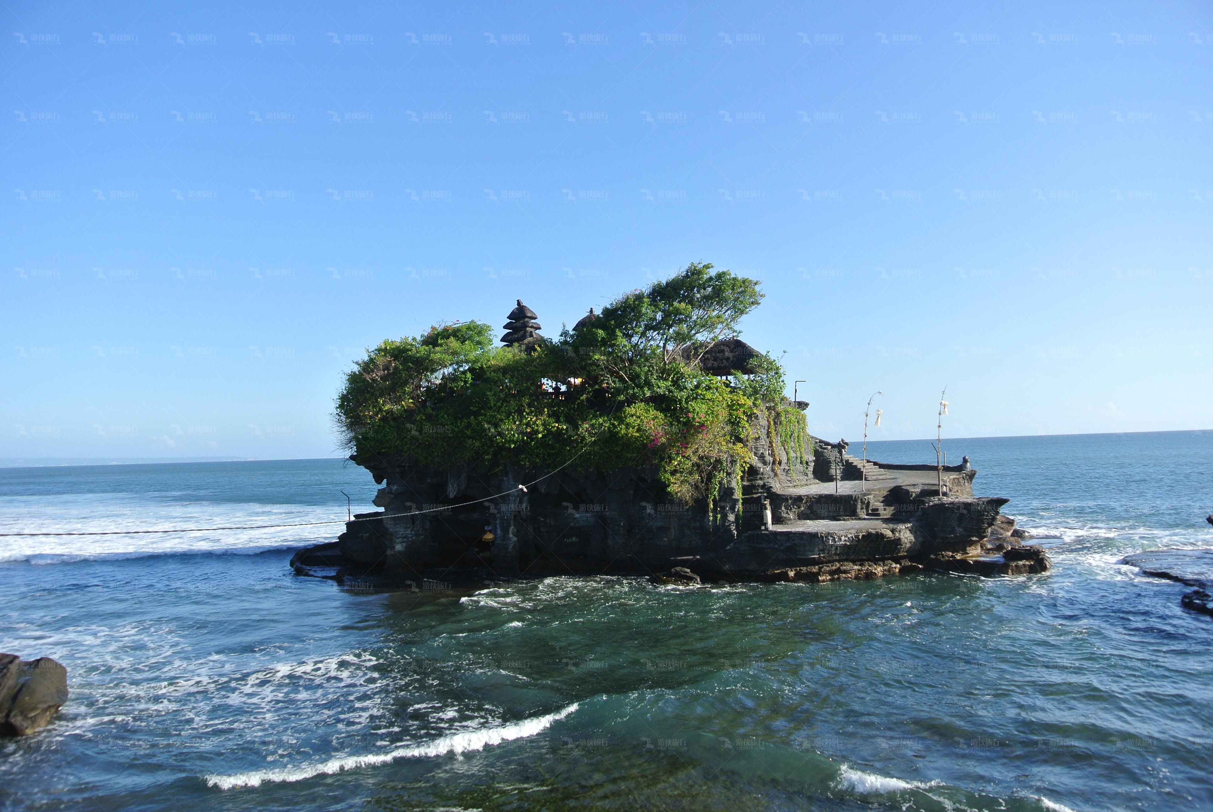 美丽神秘的海神庙