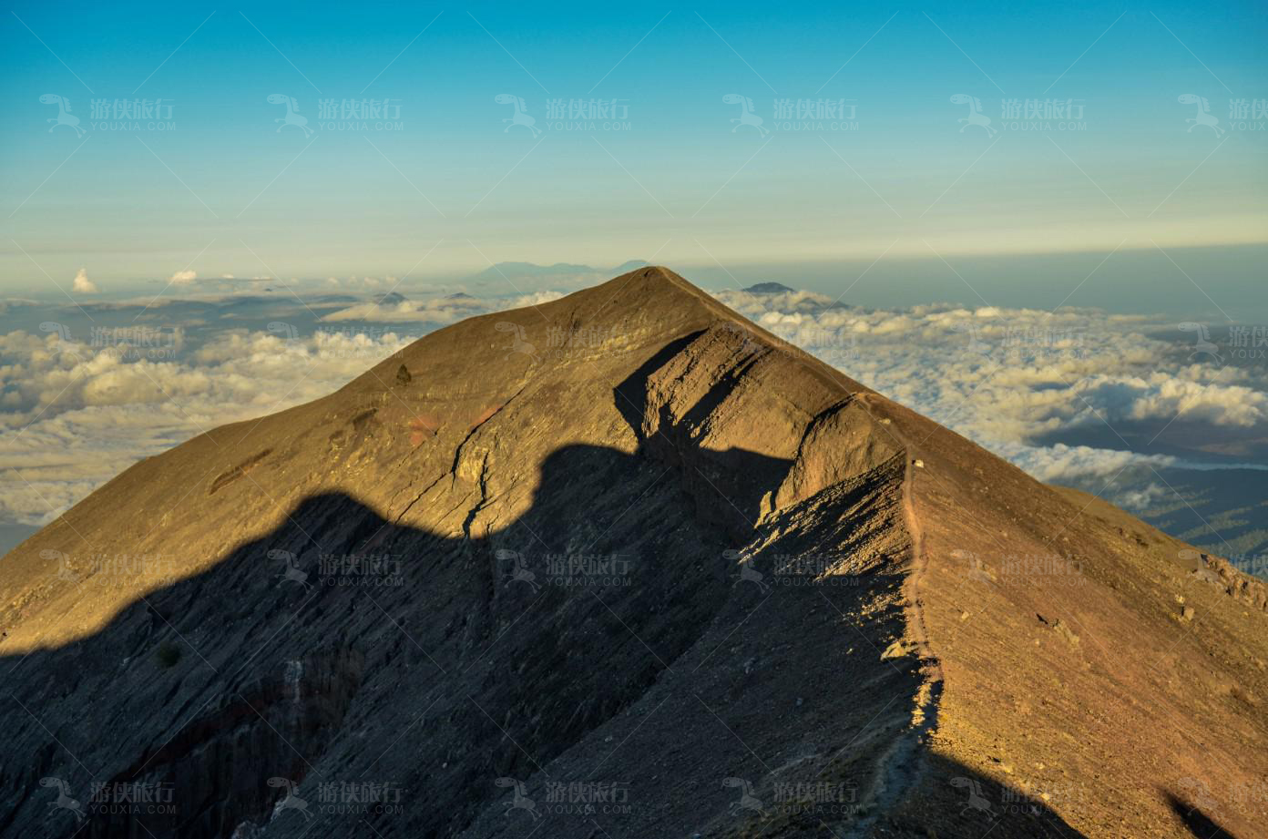 巴厘最高山峰阿贡火山