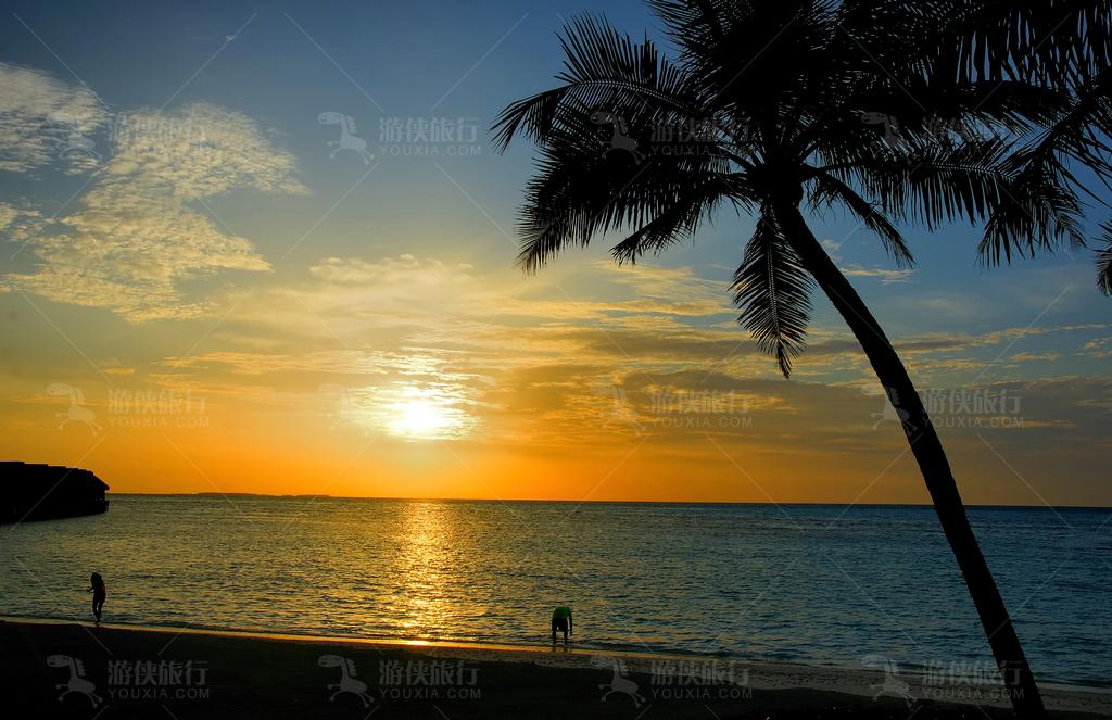马尔代夫夕阳