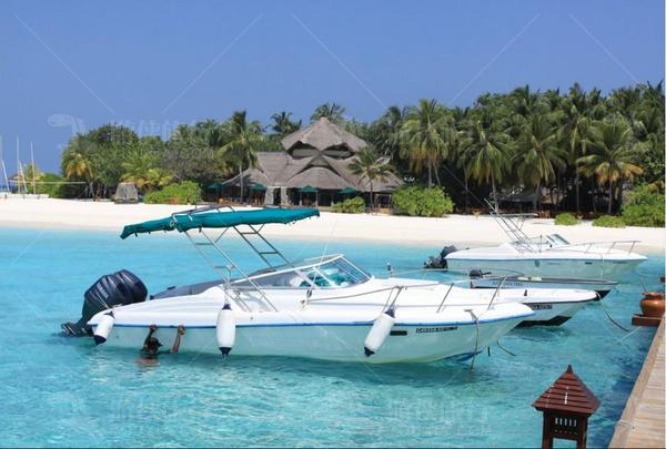 马尔代夫快艇