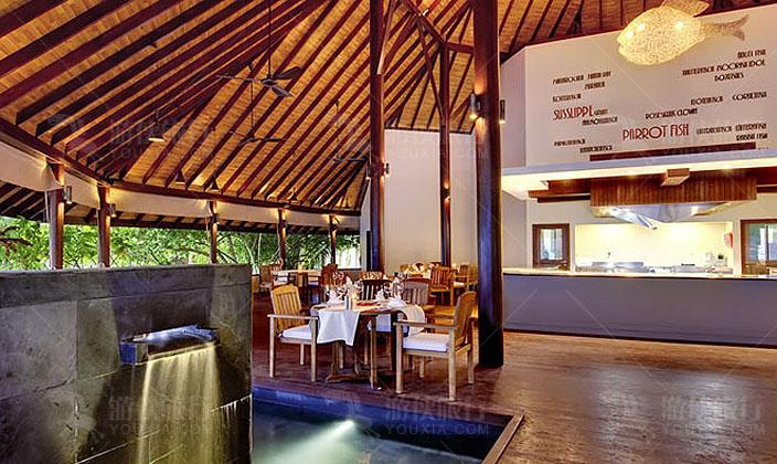 马代鲁彬逊岛海鲜餐厅