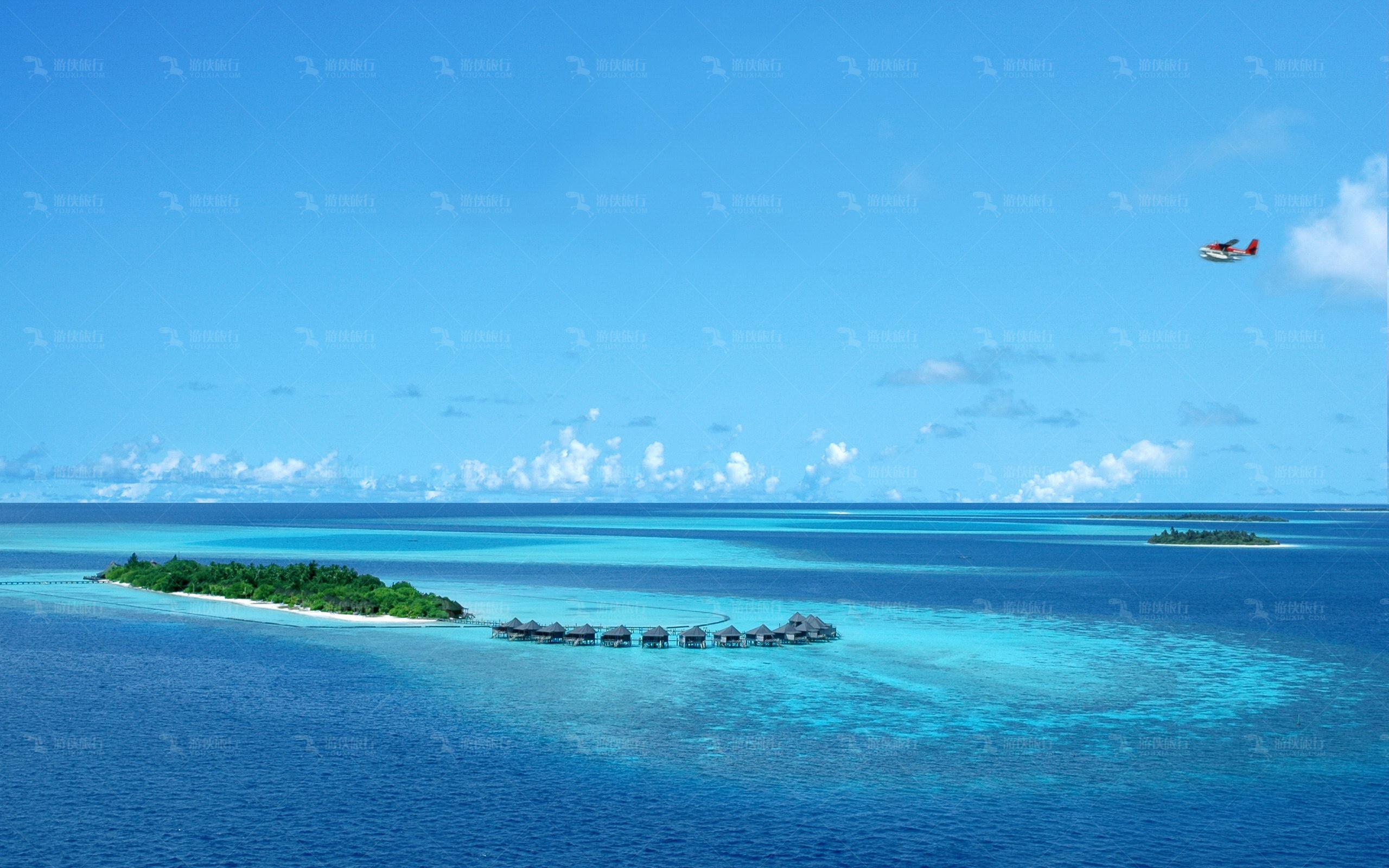 天堂般的马尔代夫
