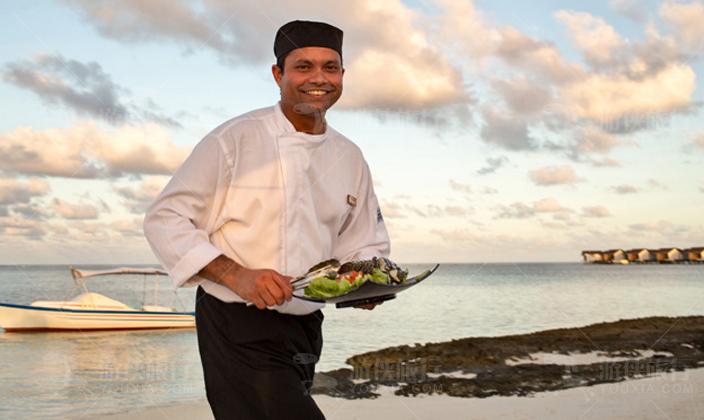 马尔代夫瑞喜敦岛烧烤餐