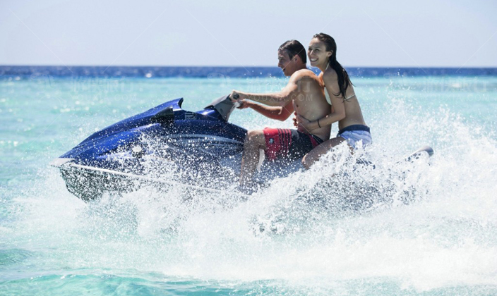马尔代夫瑞喜敦岛水上活动