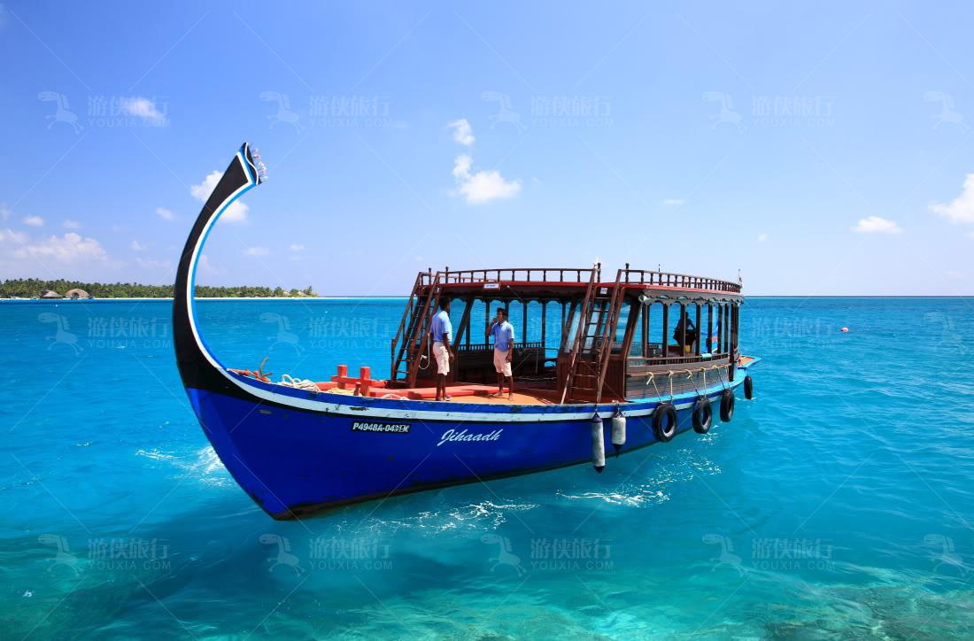 马代特色多尼船