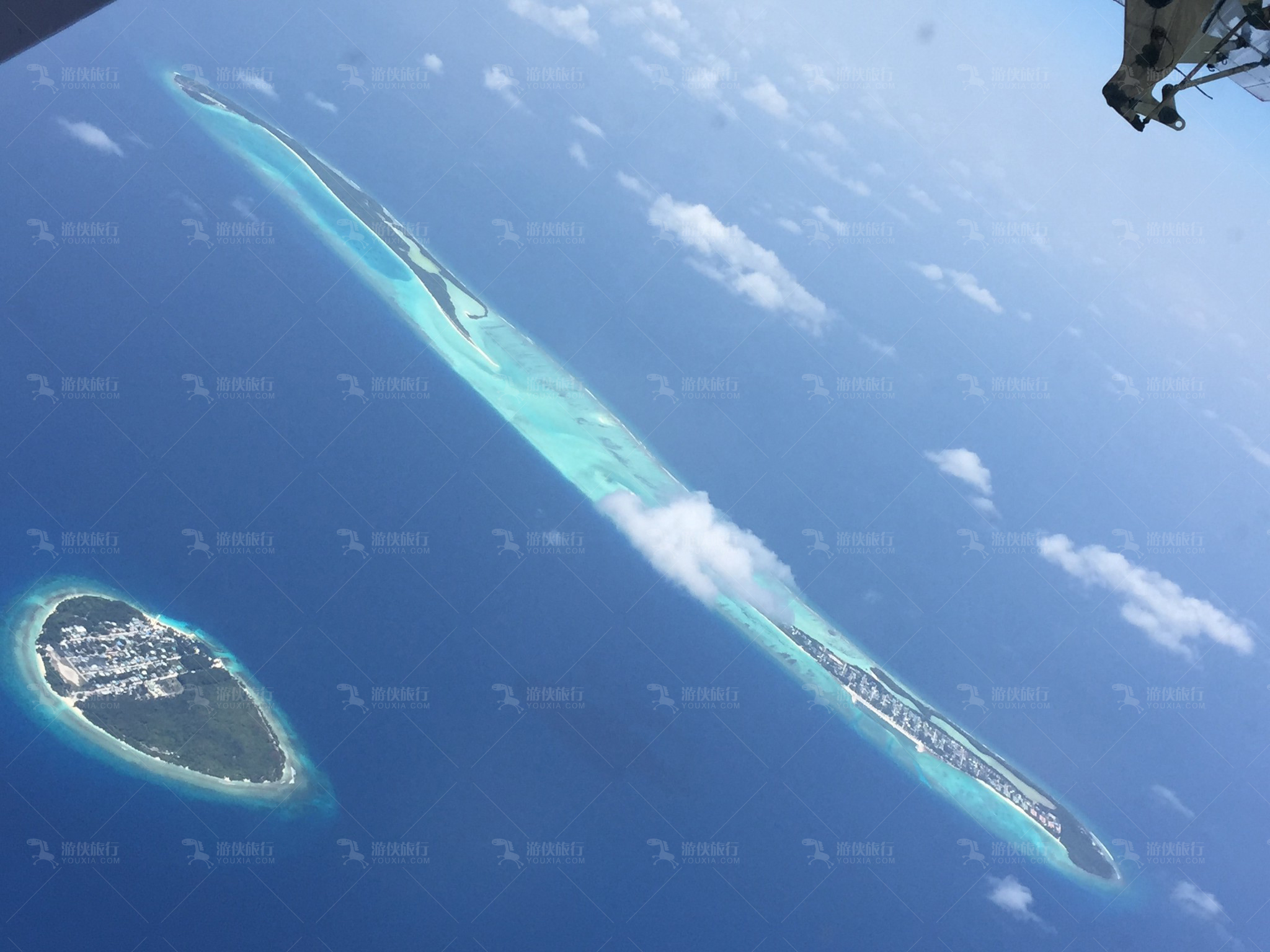 印度洋上的马尔代夫