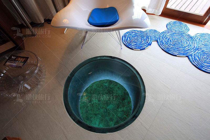 马代玻璃地板