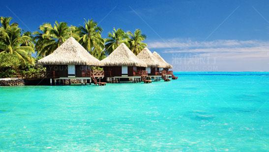 人们向往的度假天堂