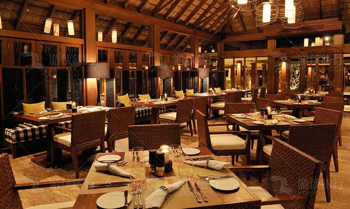 马尔代夫阿雅达岛主餐厅