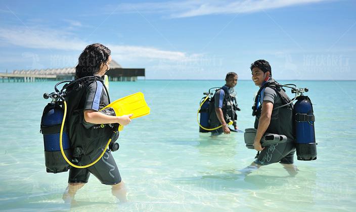 马尔代夫阿雅达潜水