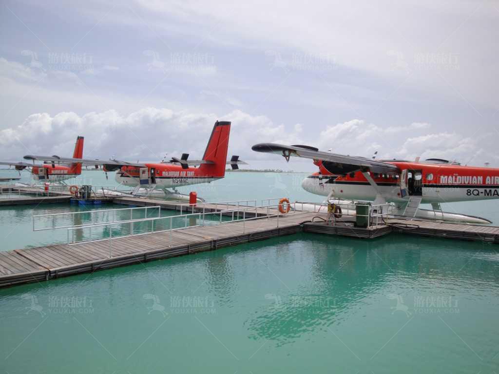 马尔代夫水飞机