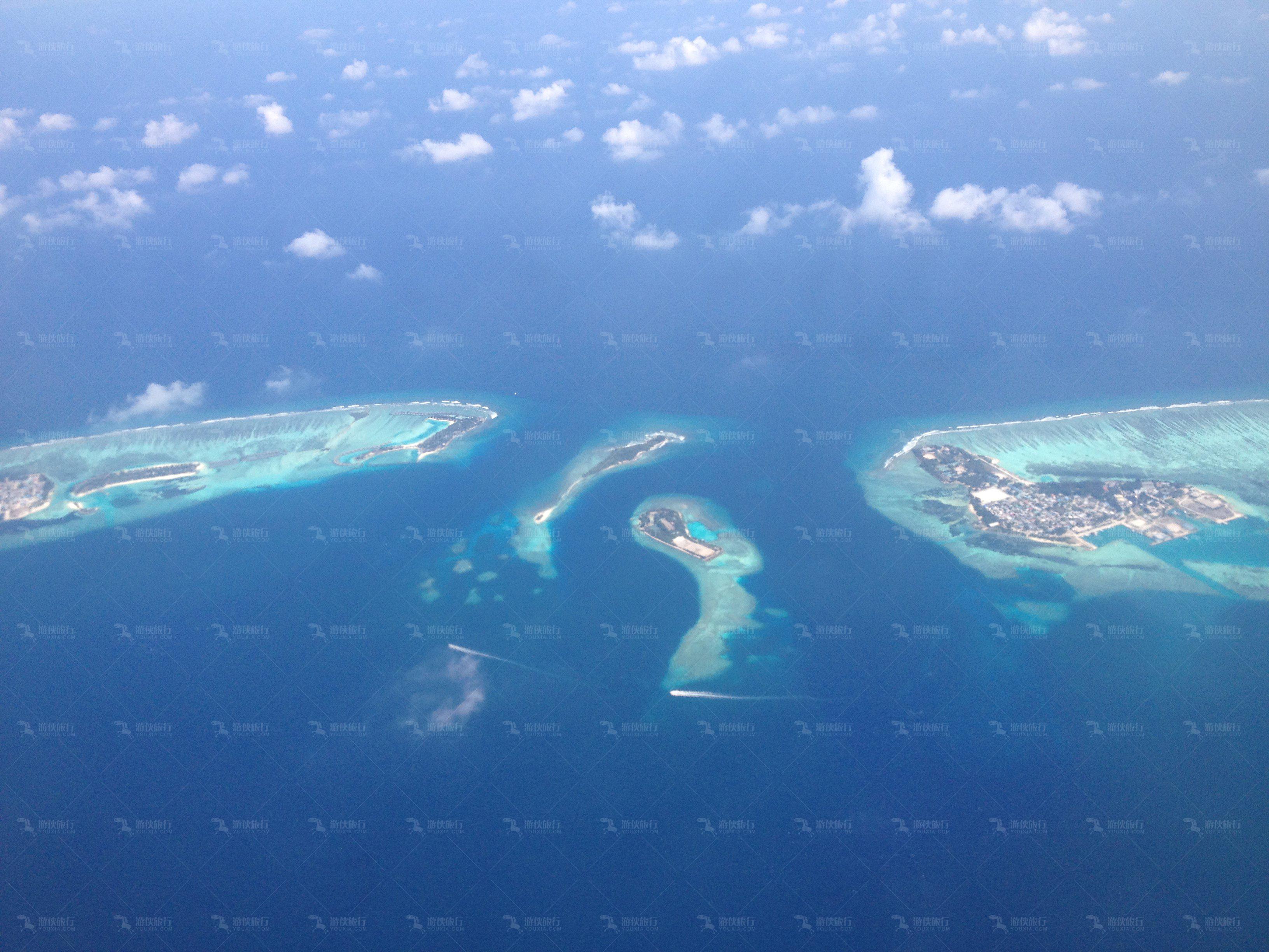 风光优美马代海岛