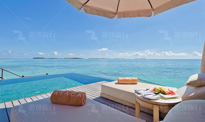 马尔代夫阿雅达岛泻湖套房