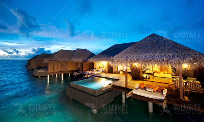 马尔代夫阿雅达海洋套房