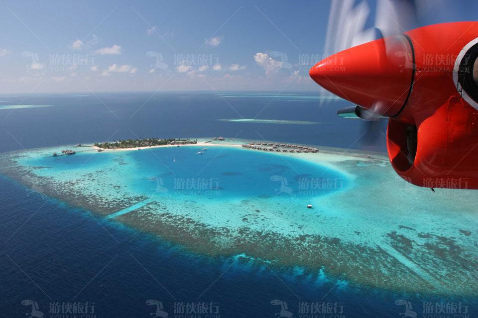 马尔代夫水飞