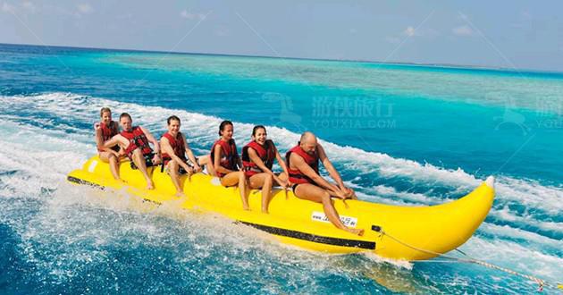 马尔代夫水上活动