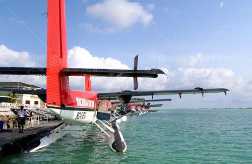马尔代夫水上飞机