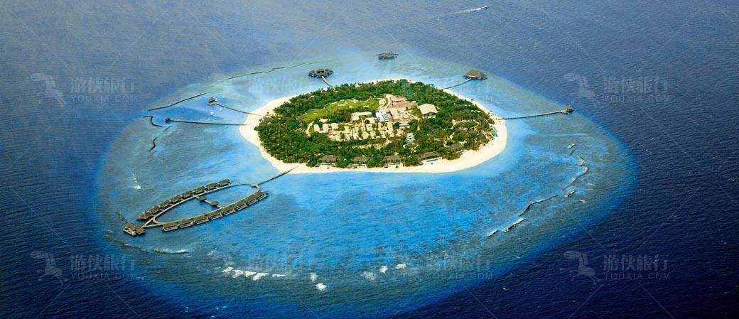 马代六星岛屿