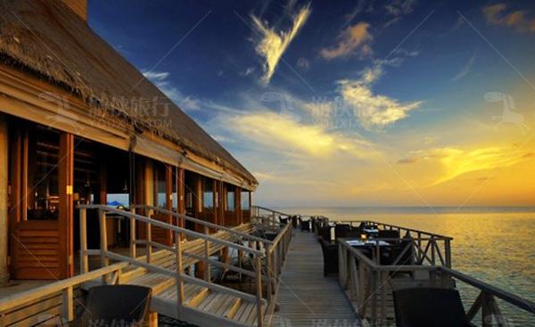 马尔代夫芙花芬岛餐厅