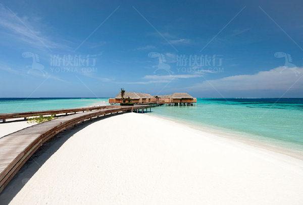 马尔代夫魔富士岛沙滩房