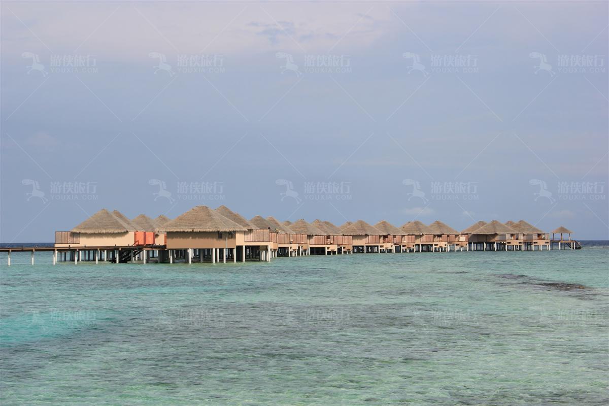 瓦度岛水上屋