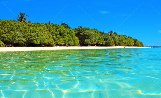 马尔代夫白雅湖