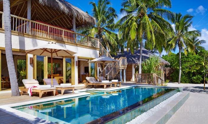 马尔代夫拉姆海洋沙滩别墅