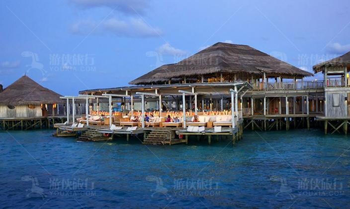 马尔代夫第六感拉姆酒吧