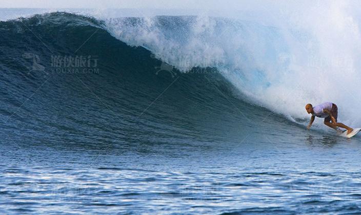 马尔代夫第六感拉姆冲浪
