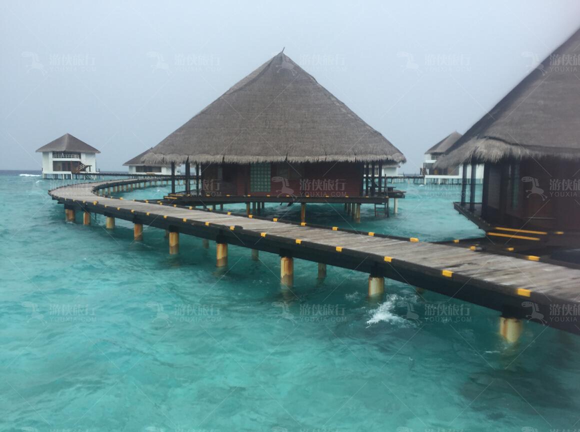 马尔代夫绚丽岛游玩