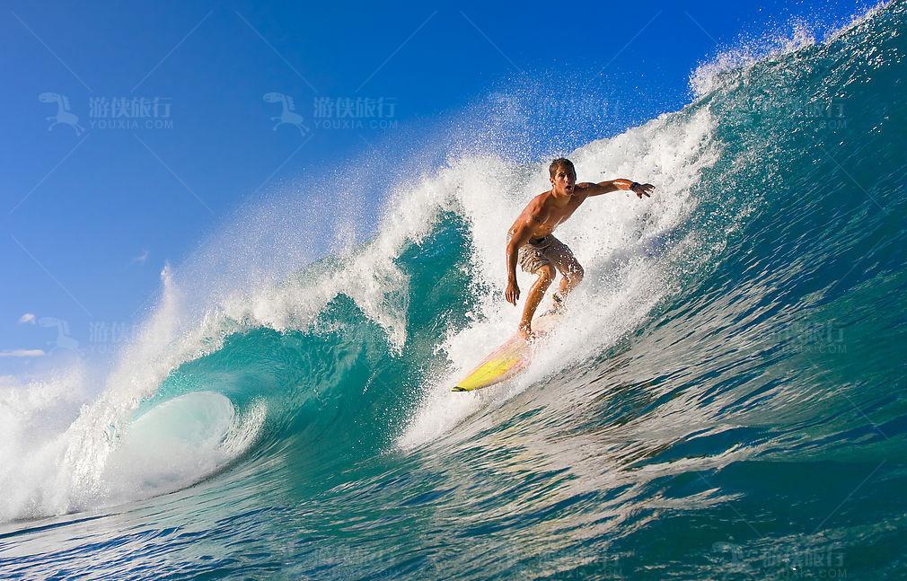 马尔代夫泰姬珍品冲浪