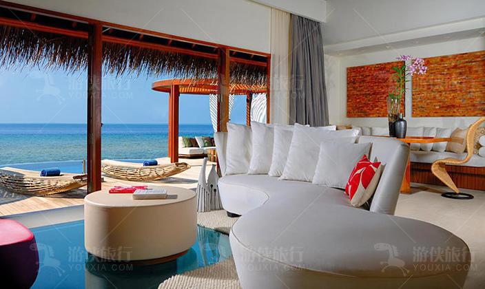 W酒店海上别墅