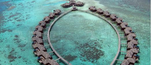 马尔代夫特色热带风情