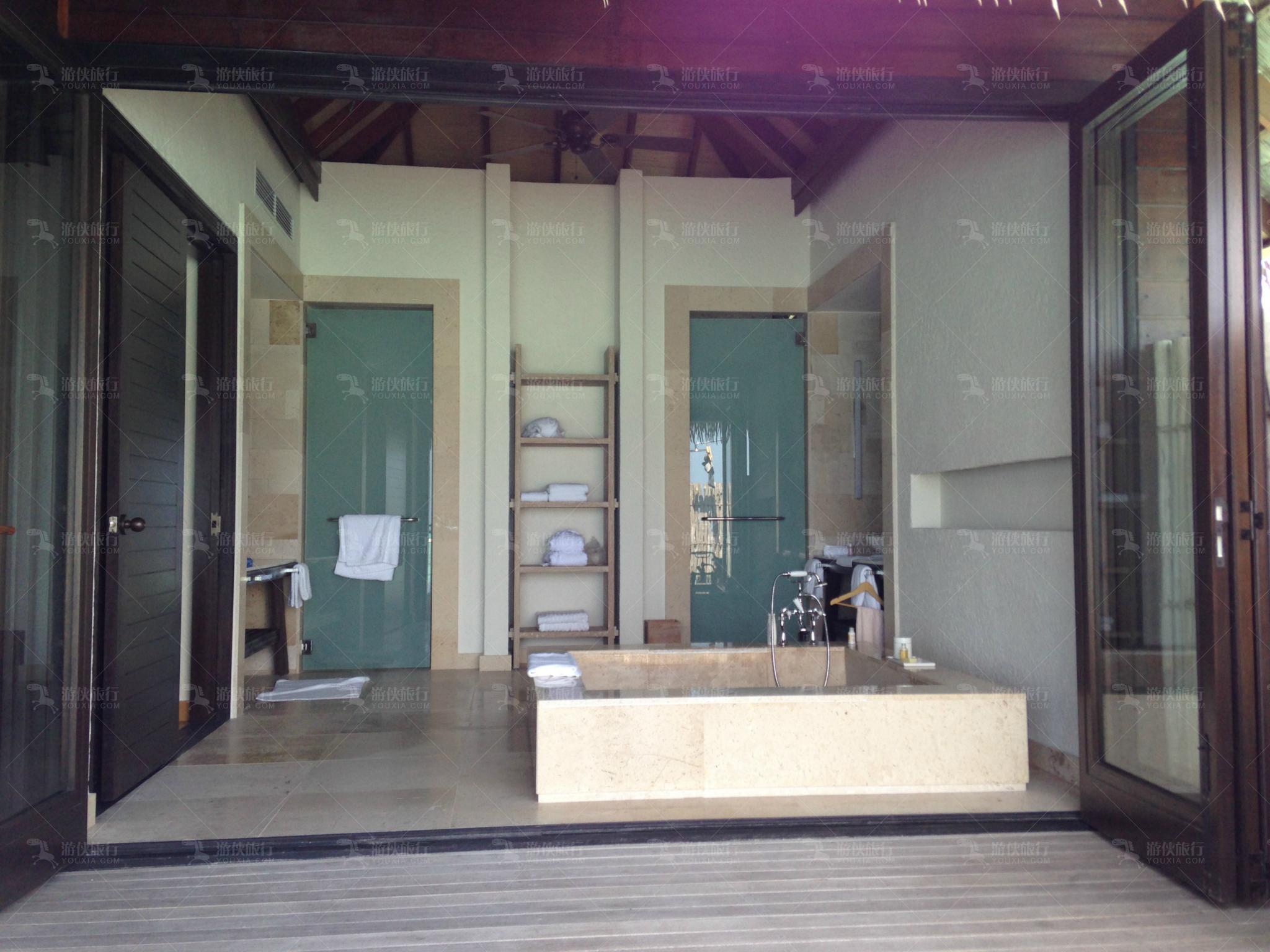 玛丽富士双卧室海滨别墅