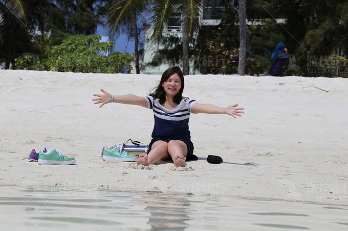 马累休闲海滩