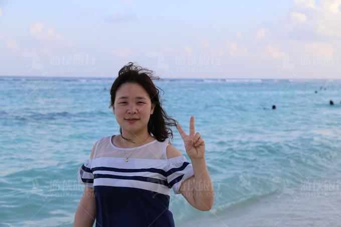享受马累的海风
