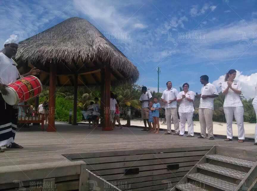安娜塔拉笛古岛欢迎仪式